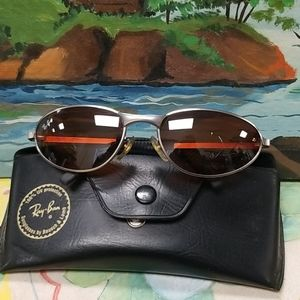 Ray Ban men sunglasses with Ray Ban case